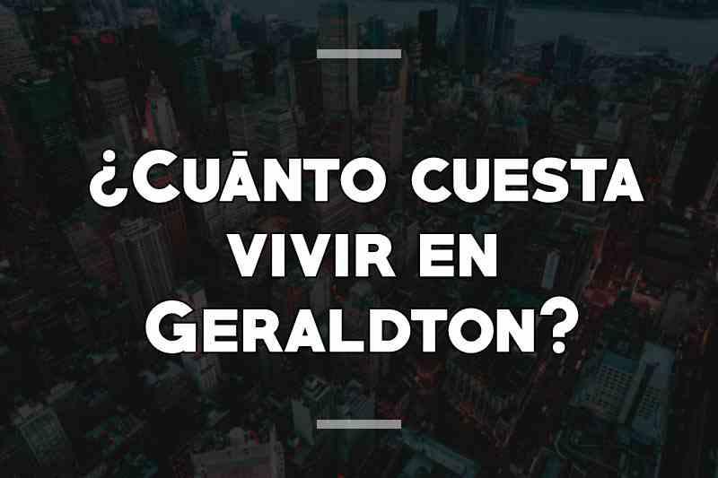 ¿Cuánto cuesta vivir en Geraldton