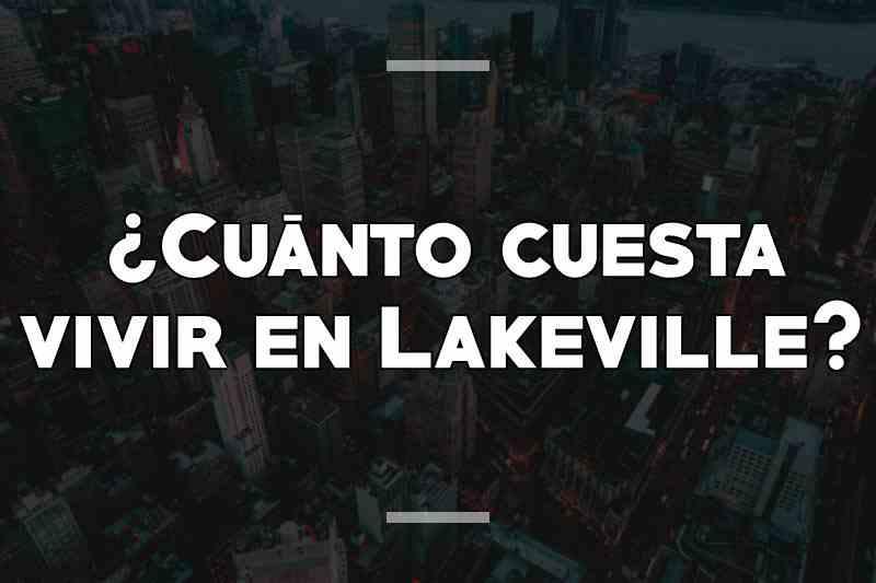 ¿Cuánto cuesta vivir en Lakeville