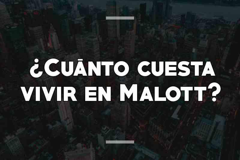 ¿Cuánto cuesta vivir en Malott