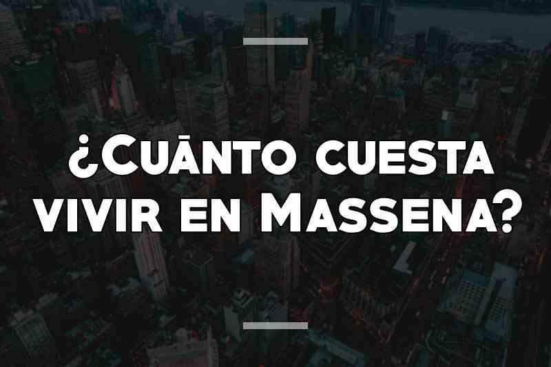 ¿Cuánto cuesta vivir en Massena