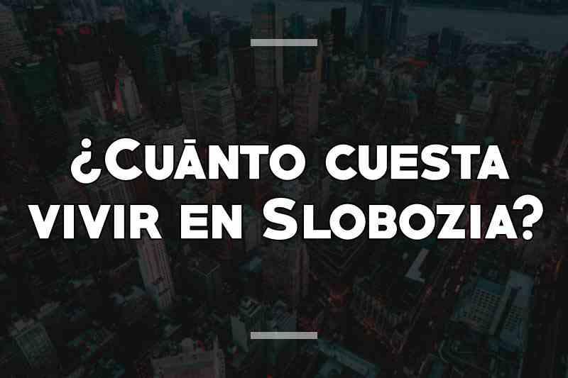 ¿Cuánto cuesta vivir en Slobozia